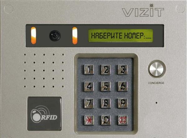 панель домофона Vizit