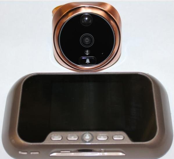 видеодомофон с датчиками