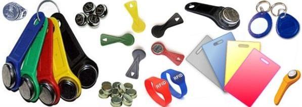 виды домофонных ключей