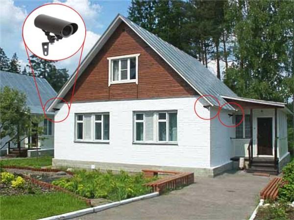 система наблюдения в частном доме