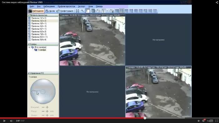 управление видеокамерами
