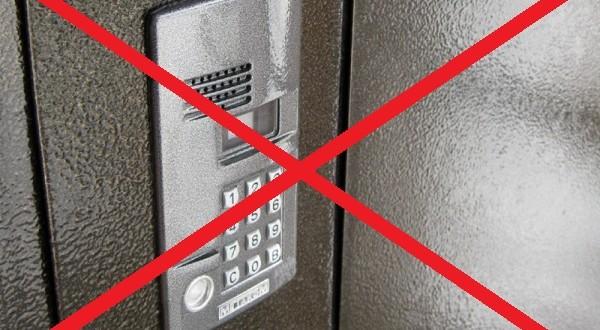 Как подключить домофон подъезда, который отключили за неуплату